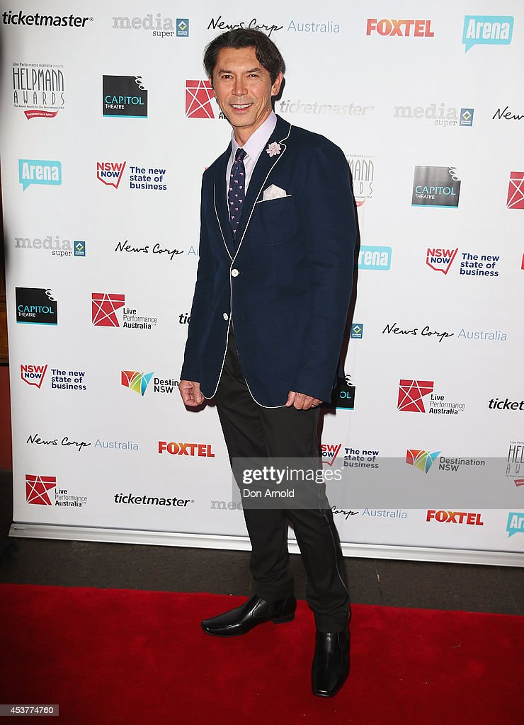 <a gi-track='captionPersonalityLinkClicked' href=/galleries/search?phrase=Lou+Diamond+Phillips&family=editorial&specificpeople=214756 ng-click='$event.stopPropagation()'>Lou Diamond Phillips</a> arrives at the 2014 Helpmann Awards at the Capitol Theatre on August 18, 2014 in Sydney, Australia.
