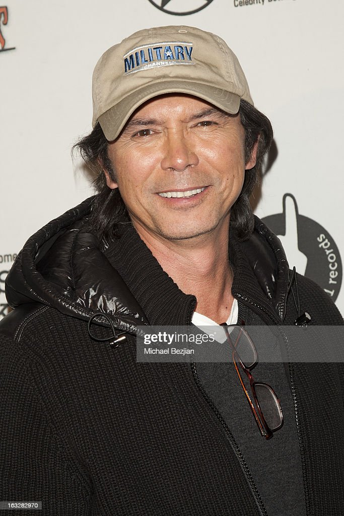 Lou Diamond Phillips attends 7th Annual 'Stars & Strikes' Celebrity Bowling And Poker Tournament Benefiting A Place Called Home at PINZ Bowling & Entertainment Center on March 6, 2013 in Studio City, California.