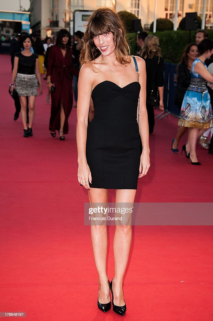 <a gi-track='captionPersonalityLinkClicked' href=/galleries/search?phrase=Lou+Doillon&family=editorial&specificpeople=208822 ng-click='$event.stopPropagation()'>Lou Doillon</a> arrives at the premiere of the movie 'Blue Jasmine' during the 39th Deauville American film festival on August 31, 2013 in Deauville, France.