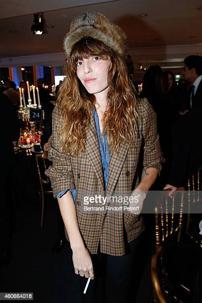 Lou Doillon attends the Annual Charity Dinner hosted by the AEM Association Children of the World for Rwanda Held at Espace Cardin on December 18...