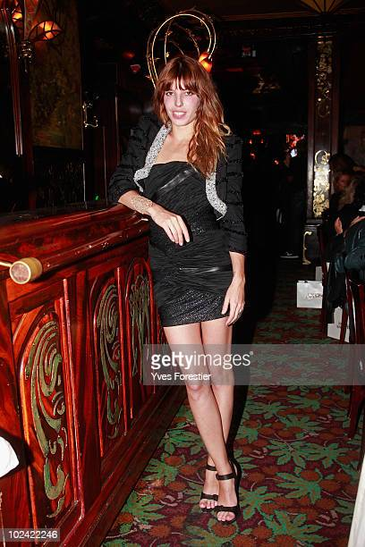 Lou Doillon attends the auction of the Amfar inspiration night at Maxim's on June 25 2010 in Paris France
