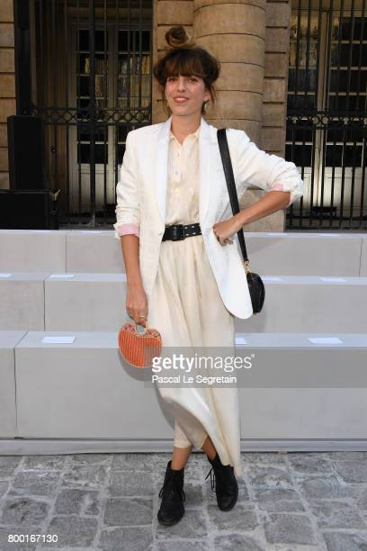 Lou Doillon attends the Berluti Menswear Spring/Summer 2018 show as part of Paris Fashion Week on June 23 2017 in Paris France