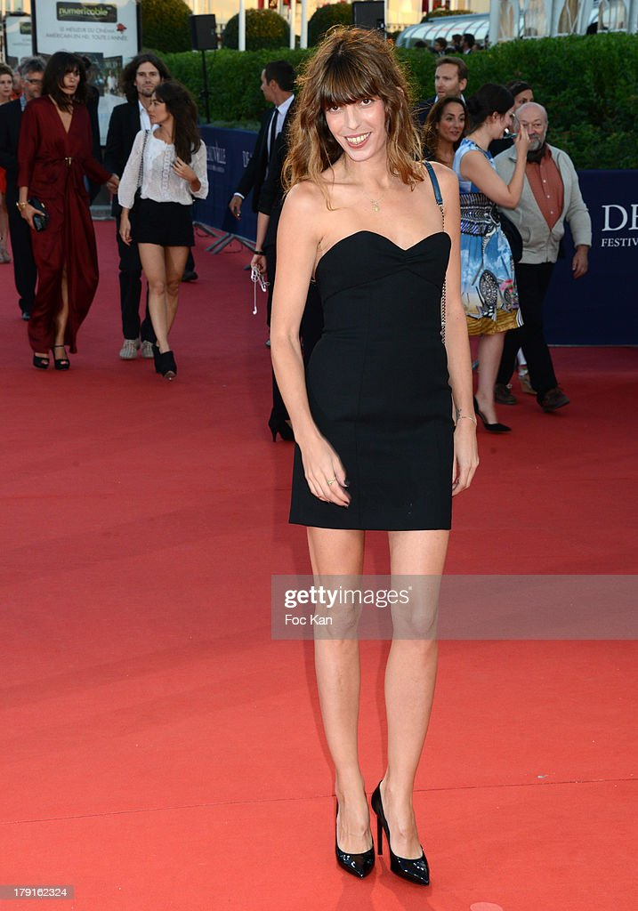 <a gi-track='captionPersonalityLinkClicked' href=/galleries/search?phrase=Lou+Doillon&family=editorial&specificpeople=208822 ng-click='$event.stopPropagation()'>Lou Doillon</a> attends the 'Blue Jasmine' Premiere at the 39th Deauville Film Festival at the CID on August 31, 2013 in Deauville, France.