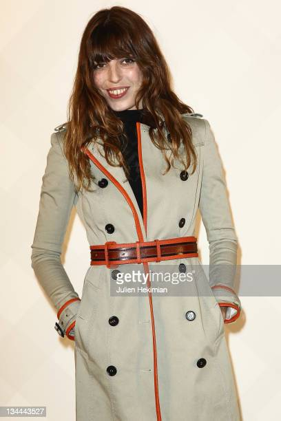Lou Doillon attends the Burberry Paris boutique opening at British Embassy on December 1 2011 in Paris France