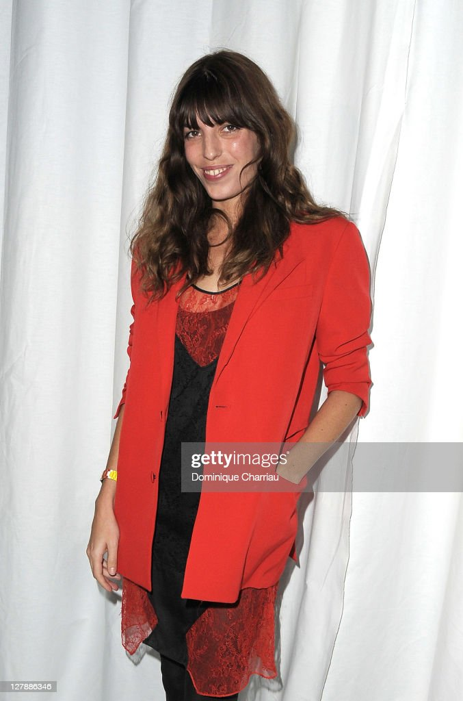 <a gi-track='captionPersonalityLinkClicked' href=/galleries/search?phrase=Lou+Doillon&family=editorial&specificpeople=208822 ng-click='$event.stopPropagation()'>Lou Doillon</a> attends the Givenchy Ready to Wear Spring / Summer 2012 show during Paris Fashion Week on October 2, 2011 in Paris, France.