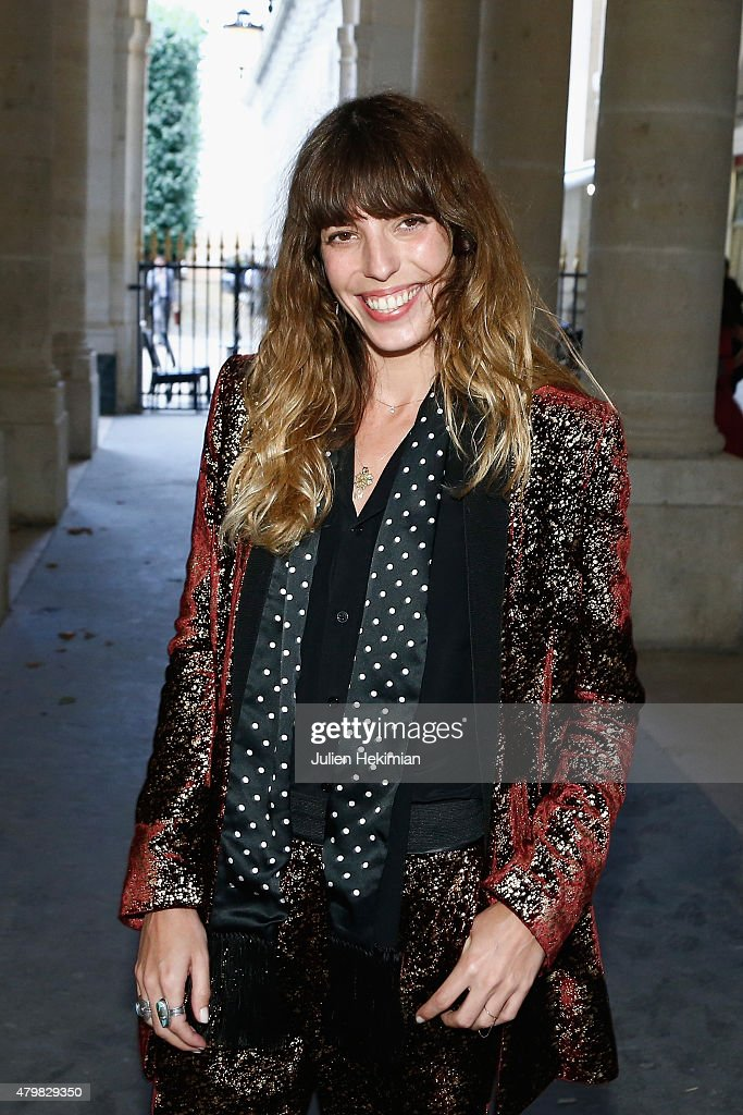 <a gi-track='captionPersonalityLinkClicked' href=/galleries/search?phrase=Lou+Doillon&family=editorial&specificpeople=208822 ng-click='$event.stopPropagation()'>Lou Doillon</a> attends the mytheresa.com & Haider Ackermann Dinner At Le Grand Vefour as part of Paris Fashion Week Haute Couture Fall/Winter 2015/2016 on July 7, 2015 in Paris, France.