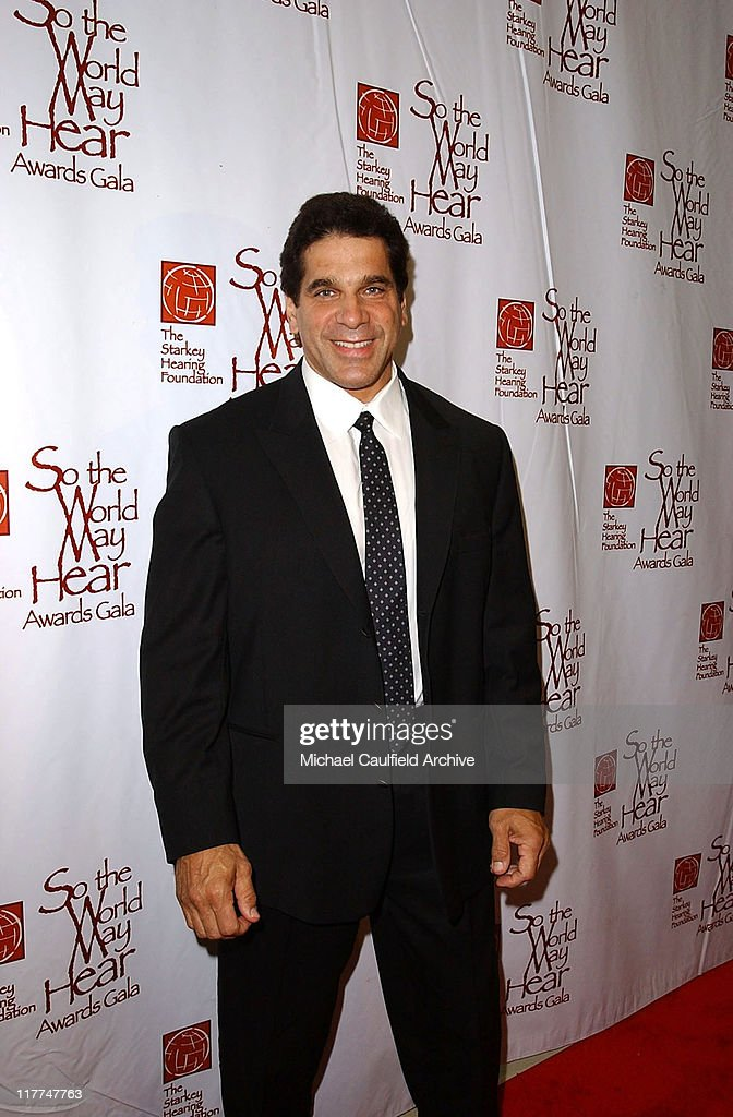 Lou Ferrigno during 'So The World May Hear' Awards Gala All Access at Rivercentre in St Paul Minnesota United States