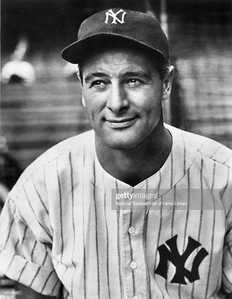 ... Gehrig played his entire career for the New York Yankees from 1923-39 Babe Ruth Yankees