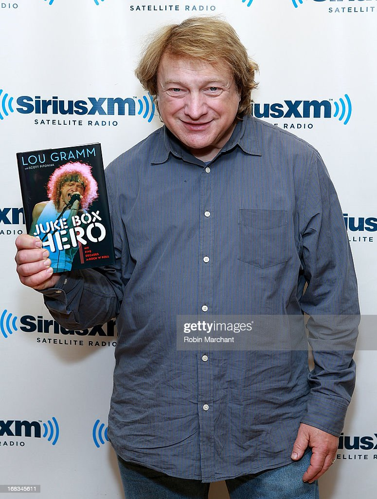 Lou Gramm visits at SiriusXM Studios on May 8, 2013 in New York City.