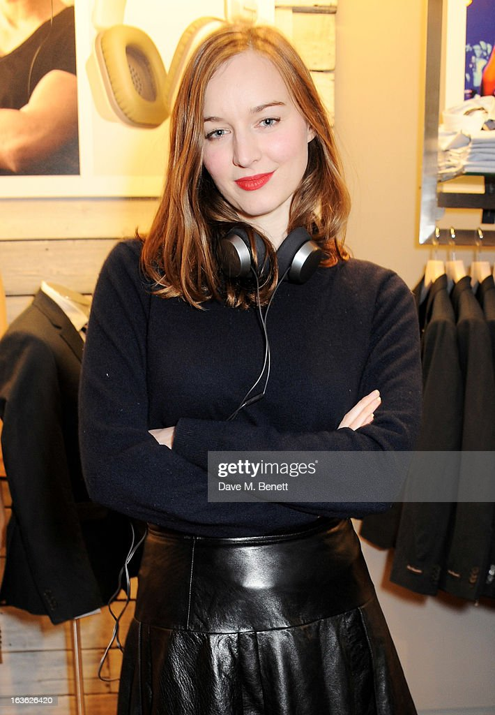 Lou Hayter attends the Panasonic Technics 'Shop To The Beat' Party hosted by George Lamb at French Connection, Oxford Circus, on March 13, 2013 in London, England.