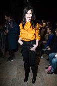 Lou Lesage attends the Vivienne Westwood show as part of the Paris Fashion Week Womenswear Fall/Winter 2016/2017 >> on March 5 2016 in Paris France