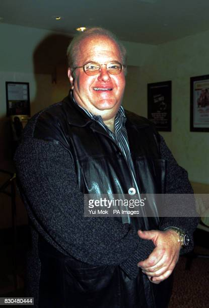 Lou Pearlman the man behind the Backstreet Boys and NSync at a launch party for boy band OTown whom he manages at Planet Hollywood in London