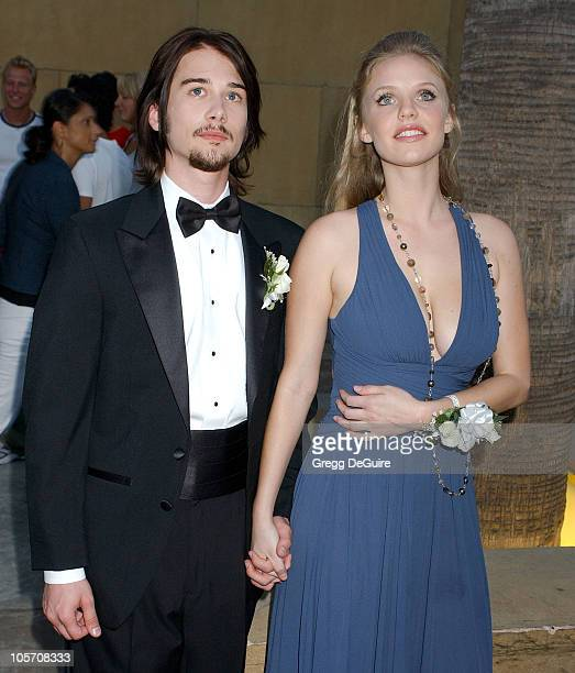 Lou Pucci and Kelli Garner during 'Thumbsucker' Los Angeles Premiere Arrivals at Egyptian Theatre in Hollywood California United States