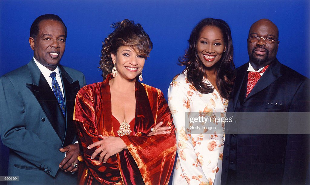 Lou Rawls, Debbie Allen, Yolanda Adams and Bishop T.D. Jakes pose for this recent undated photo. They will serve as co-hosts of the United Negro College Funds television special 'An Evening of Stars: A Celebration of Educational Excellence' airing nationwide the weekend of January 5, 2002.