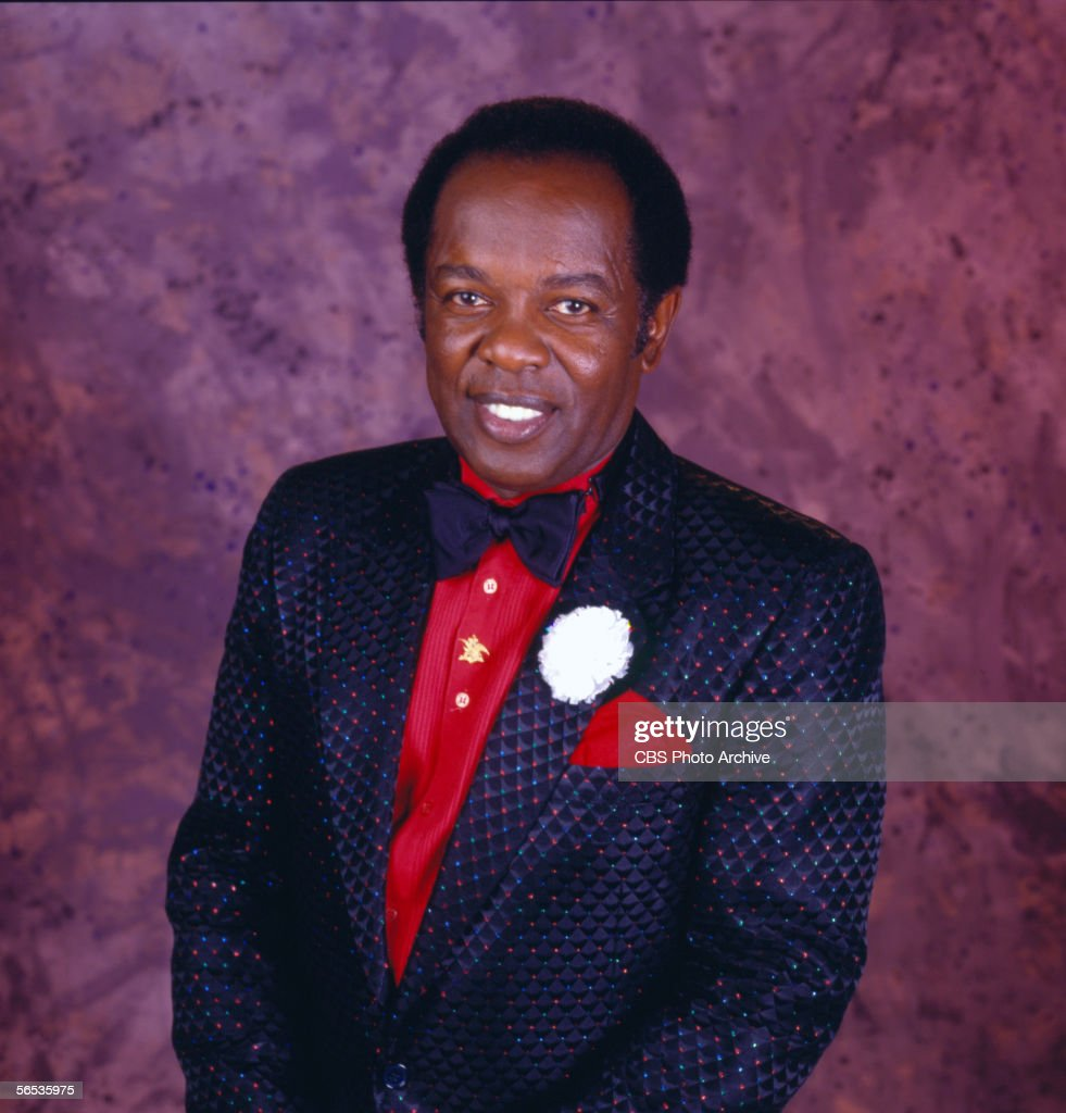 Lou Rawls. Image dated 1984.