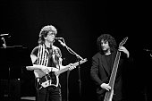 Lou Reed and Rob Wasserman perform at the Beacon Theater in New Tork City on March 26 1994