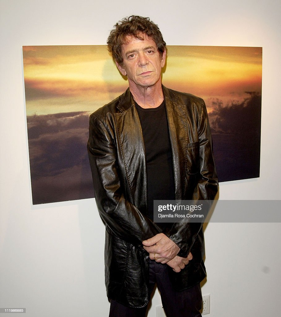 Lou Reed during Interview and Adidas Host a Party for Lou Reed's Photo Book at Cooper Classics Collection in New York City, New York, United States.