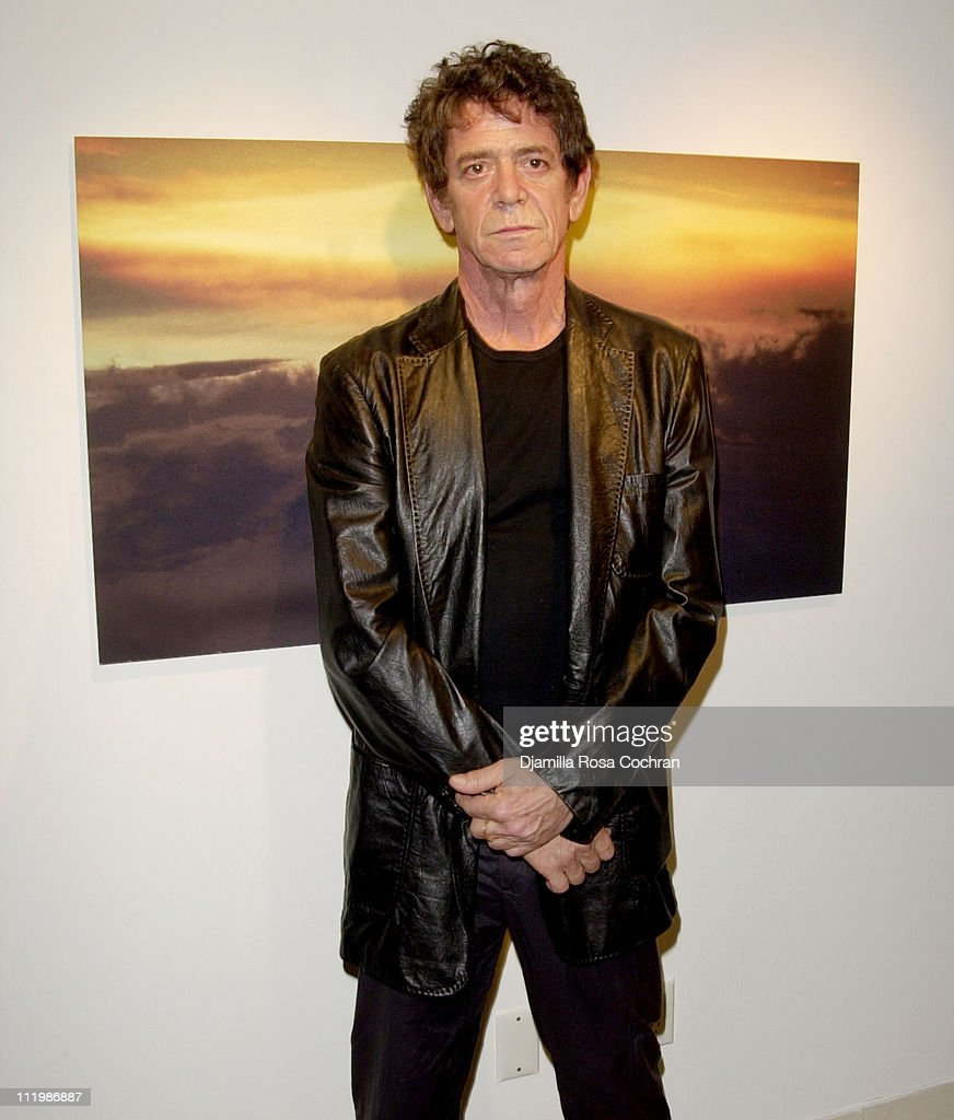 Interview and Adidas Host a Party for Lou Reed's Photo Book