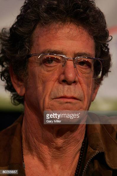 Lou Reed gives the Keynote address at South By Southwest Music Festival on March 13th 2008 in Austin Texas