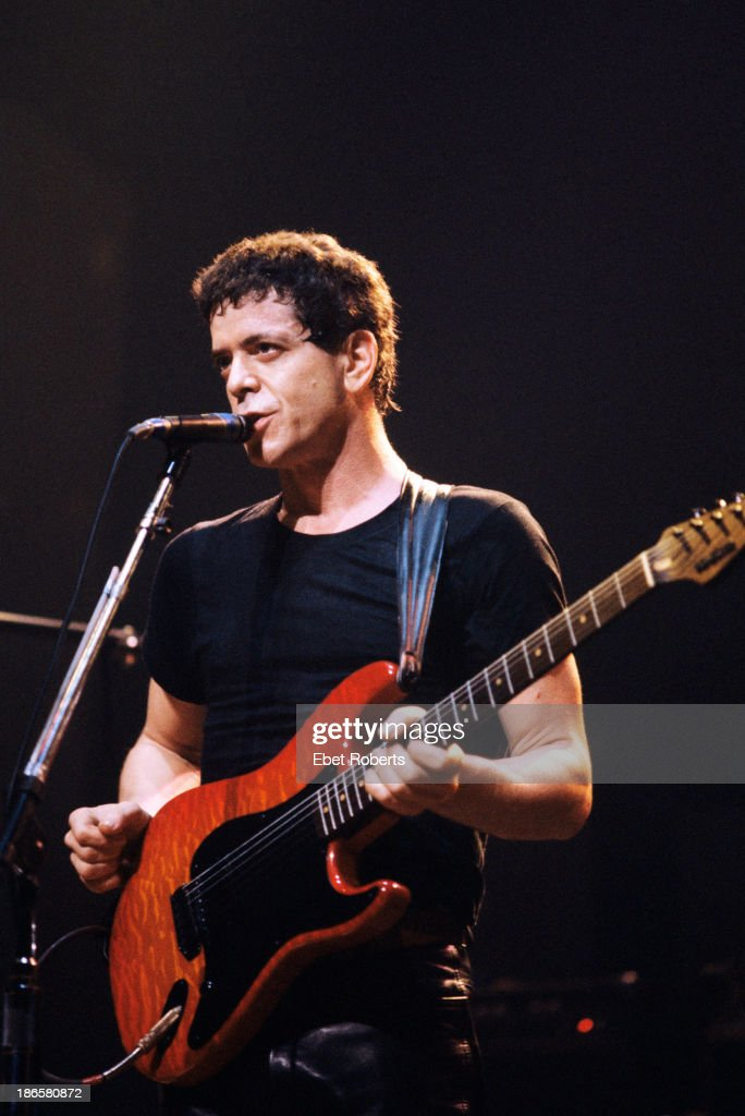 Lou Reed performing at the Beacon Theater in New York City on October 18 1984