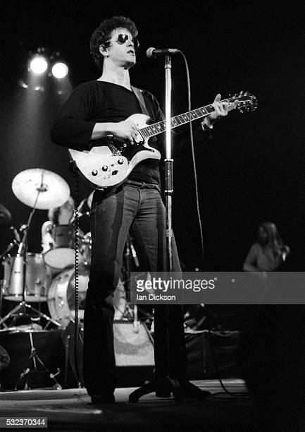 Lou Reed performing on stage London United Kingdom 1977