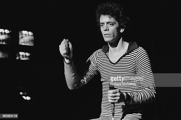Lou Reed performs live circa 1979 in San Francisco California