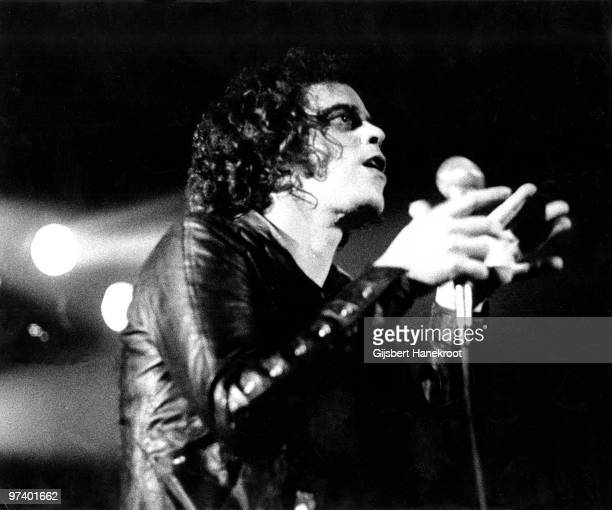 Lou Reed performs live on stage at the Carre Theatre in Amsterdam Netherlands on September 20 1973