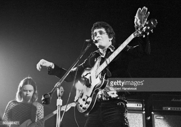 Lou Reed performs on stage at the Carre Theatre in Amsterdam Netherlands on September 30 1972