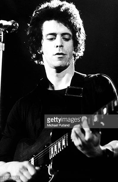 Lou Reed performs on stage New York May 1977