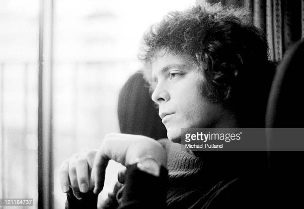 Lou Reed portrait London January 1972