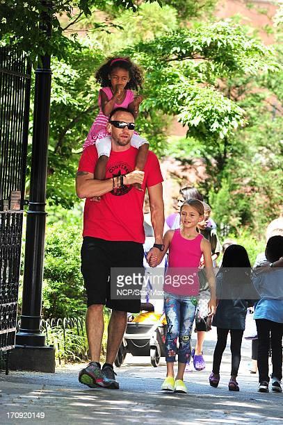 Lou Samuel Martin Kristen and Leni Samuel as seen on June 19 2013 in New York City