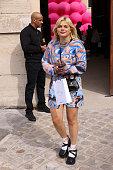 Victoria/Tomas : Outside Arrivals -  Paris Fashion Week...