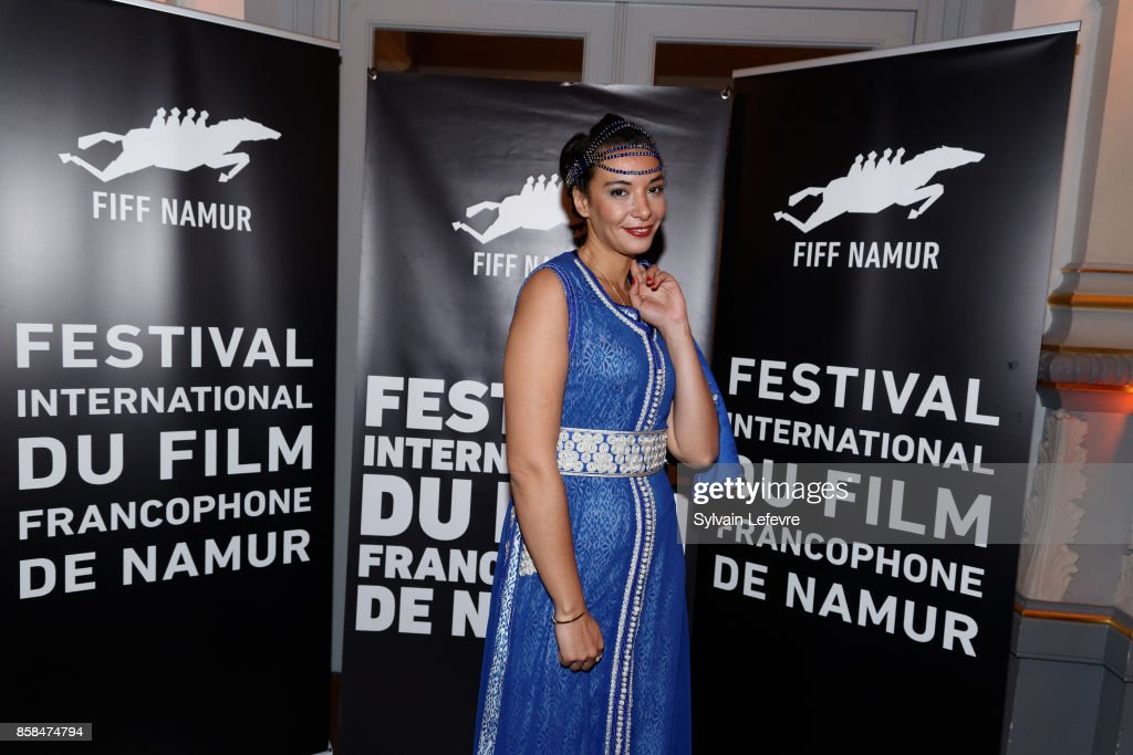 Loubna Abidar attends the Award Ceremony of 32nd Namur International French-Language Film Festival (FIFF) on October 6, 2017 in Namur, Belgium.