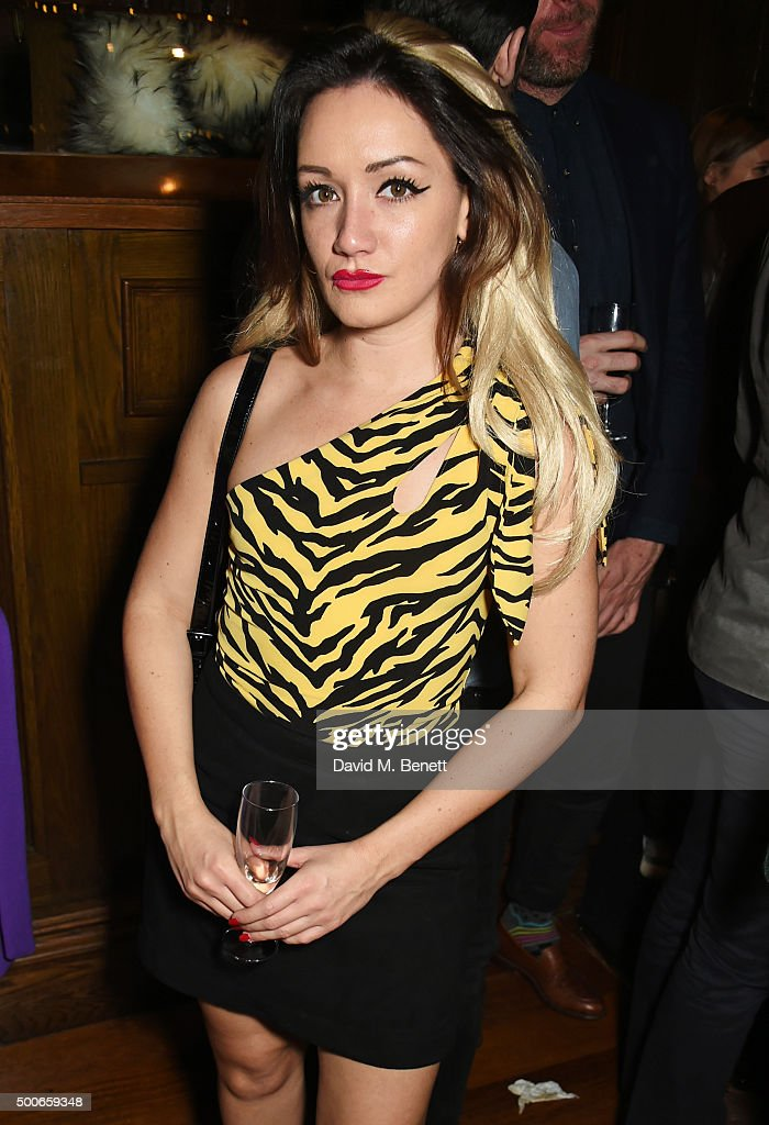 Louby McLoughlin attends the Sunday Times Style Christmas Party at Tramp on December 9 2015 in London England