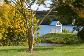 """""""View of gazebo in downtown, Loudon, Tennessee"""""""