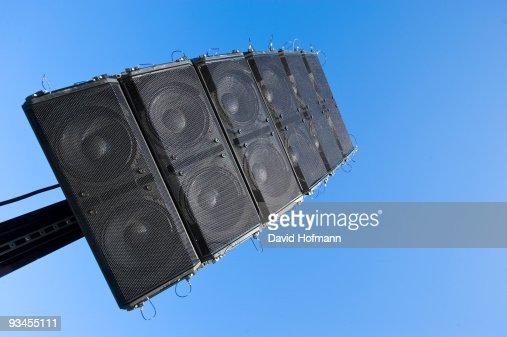 Loudspeaker : Bildbanksbilder