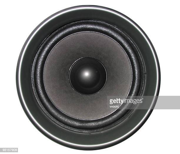 Lautsprecher ohne Hintergrund