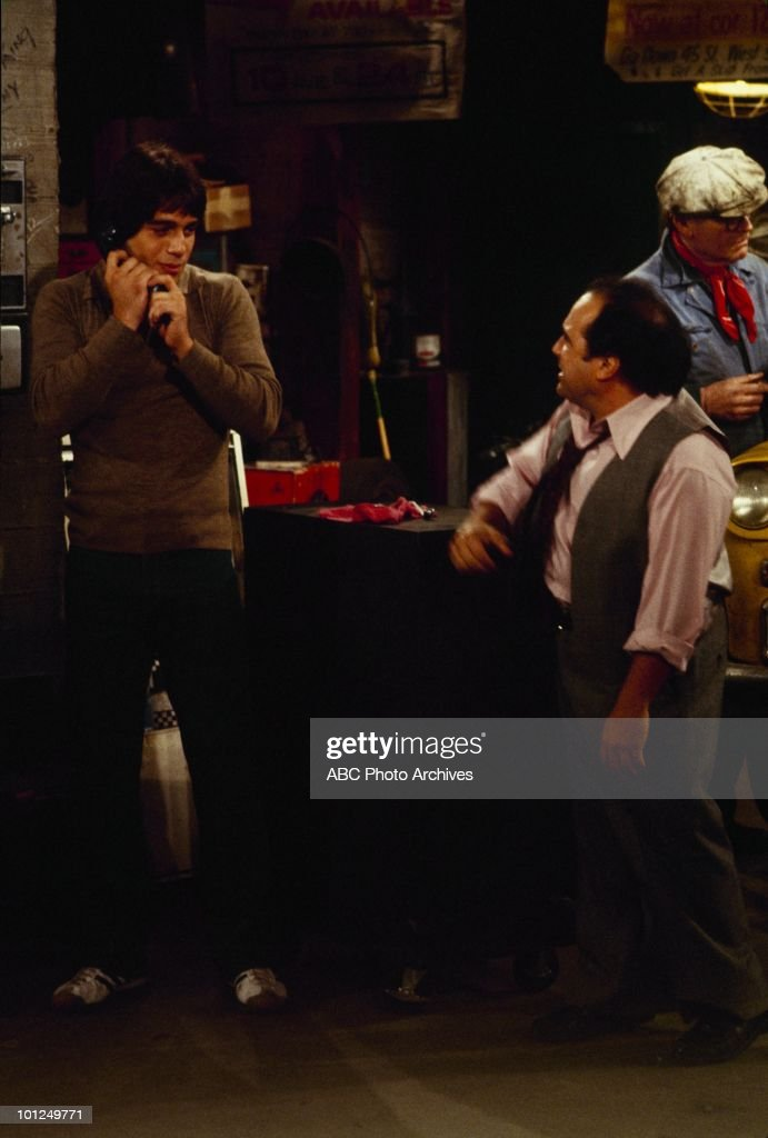 TAXI - 'Louie Meets the Folks' and 'Fantasy Borough' - Airdate Decamber 11, 1979 and May 6, 1980. (Photo by ABC Photo Archives/ABC via Getty Images) TONY
