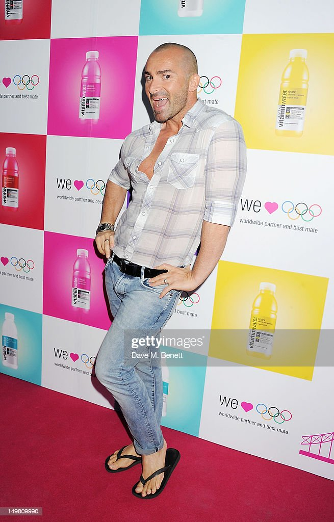 Louie Spence arrives as Glaceau vitaminwater presents 'Jessie J Live In London' at The Roundhouse on August 4, 2012 in London, England.