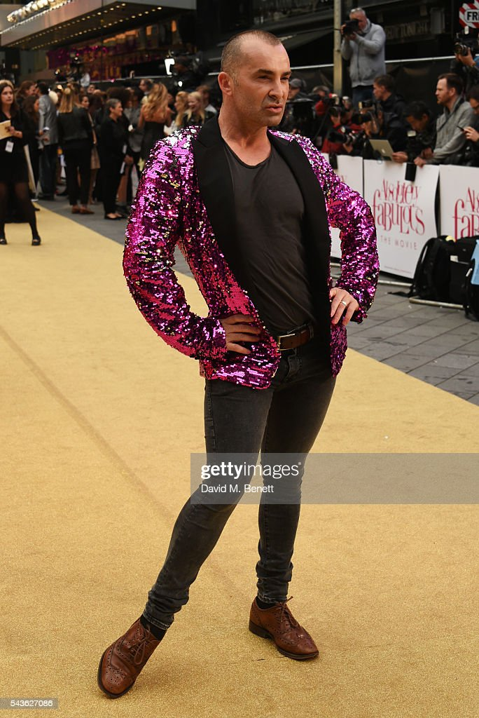 <a gi-track='captionPersonalityLinkClicked' href=/galleries/search?phrase=Louie+Spence&family=editorial&specificpeople=6914017 ng-click='$event.stopPropagation()'>Louie Spence</a> attends the World Premiere of 'Absolutely Fabulous: The Movie' at Odeon Leicester Square on June 29, 2016 in London, England.