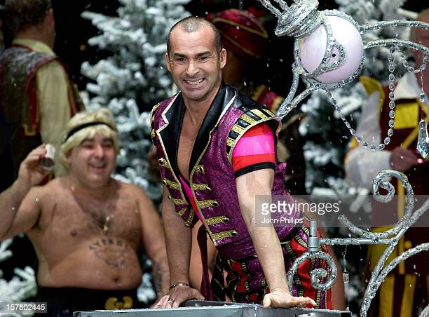 Louie Spence During A Photocall To Launch The First Family Entertainment Pantomime Season At The Piccadilly Theatre In Central London