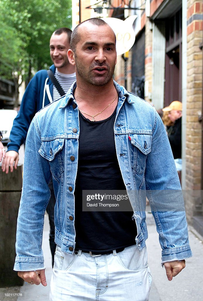 Louie Spence is seen out in covent garden on June 15, 2010 in London, England.