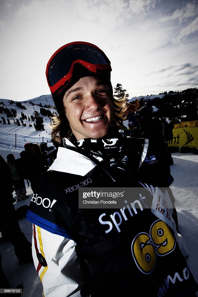 Louie Vito competes at the US Snowboarding Grand Prix January 9 2010 in Mammoth Lakes California This is the second stop for the US Olympic...