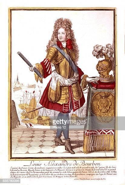 Louis Alexandre de Bourbon a son of Louis XIV 17th century France