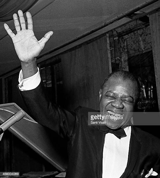 Louis Armstrong performing on December 16 1969 in New York New York