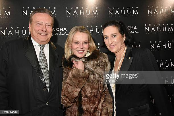 Louis arnaud L'Herbier Helene de Yougoslavie and Tanya de Bourbon Parme attend 'Black Whyte Party' by Edouard Nahum to celebrate his new Jewellery...