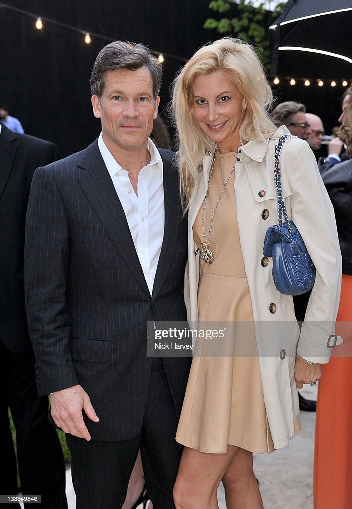 Louis Bacon and Gabrielle Bacon attend the Serpentine summer party at The Serpentine Gallery on June 28, 2011 in London, England.