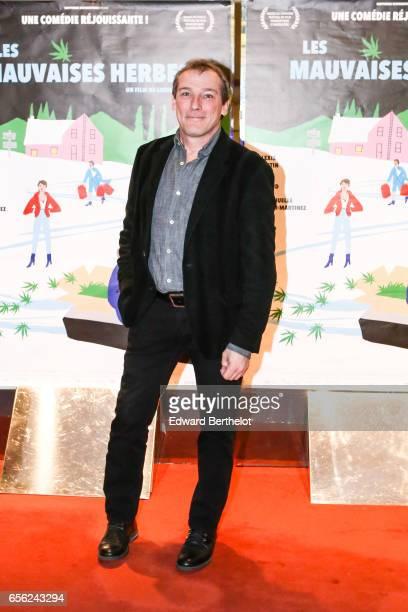 Louis Belanger film director attends the 'Les Mauvaises Herbes' Paris Premiere photocall at UGC Cine Cite des Halles on March 21 2017 in Paris France