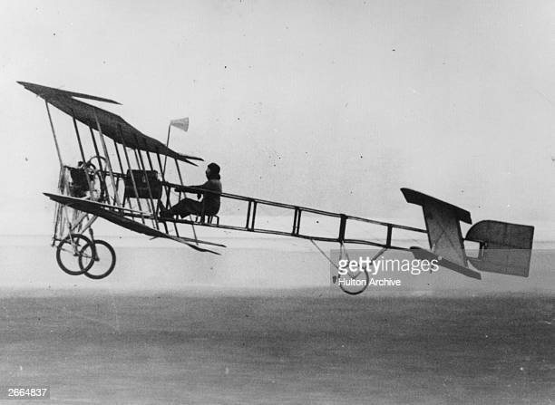 Louis Bleriot's Ambroise Goupy ll first flown in 1909 It served as a forerunner to the classic World War I biplane fighter
