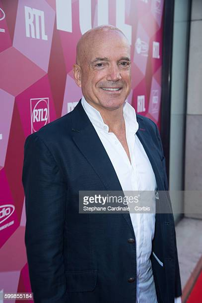 Louis Bodin attends the RTL Press Conference at Elysees Biarritz Cinema on September 7 2016 in Paris France